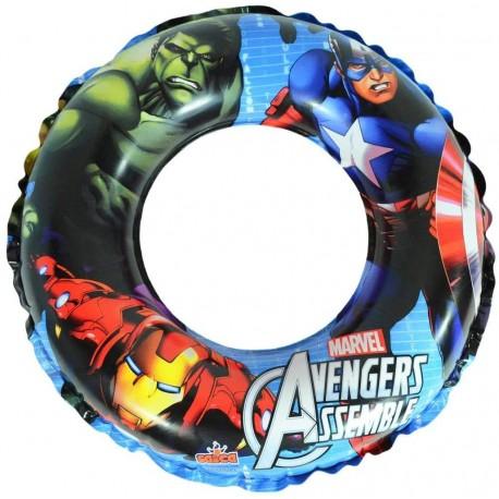 Avengers Galleggiante Gonfiabile 50 cm (Saica 9695) Marvel Ciambella
