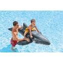Intex 57530 - Cavalcabile Balena, Blu/Bianco, 201 x 135 cm gonfiabili mare