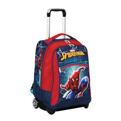 Seven Big Trolley Spider Man, Zaino Spiderman Scuola, Tempo Libero, Viaggio