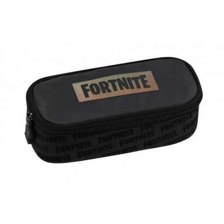 FORTNITE Gamer Case Astuccio Ovale Organizzato Nero 64344