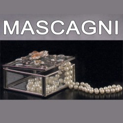 Portagioie MASCAGNI 8X8 cm. Portaoggetti