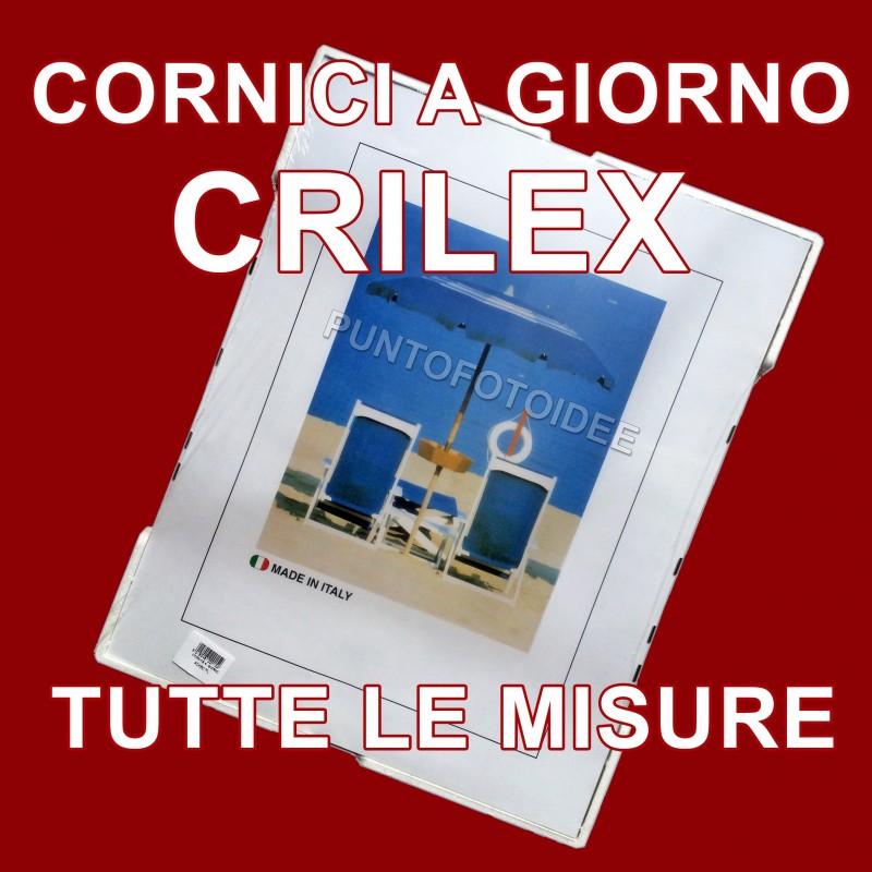 cornice a giorno in crilex portafoto in plexiglass dalla On cornici a giorno misure standard