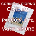 Cornici a giorno IN CRILEX - PACCO da 6 Pz. - Portafoto in Plessiglass