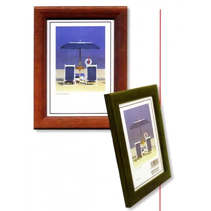 Cornice in Legno e vetro da parete - Bomberino Opaco