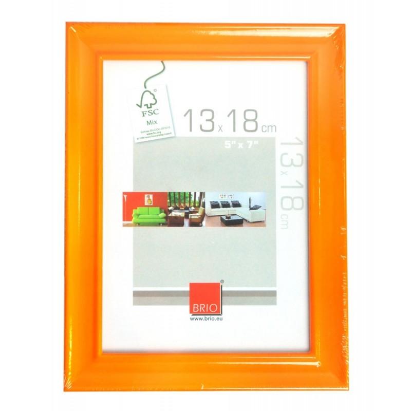 Cornice in legno e vetro 13x18 brio da tavolo e parete for Cornici 13x18
