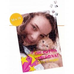 Foto Puzzle personalizzabile con foto 50x70