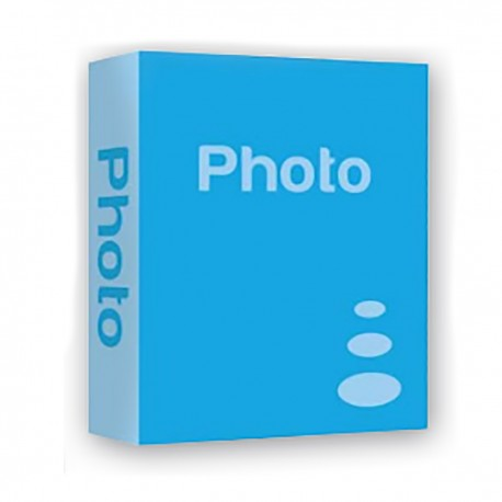 "Album portafoto a tasche ""BASIC"" 200 foto Azzurro"