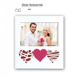 """Cornice """"Gioia Horizzontal"""" per foto 10x15 da tavolo e parete"""