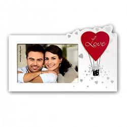 """Portafoto in legno """"HELENA"""" per foto 10x15 San Valentino"""