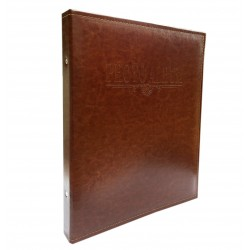 Classic photo album in eco-leather