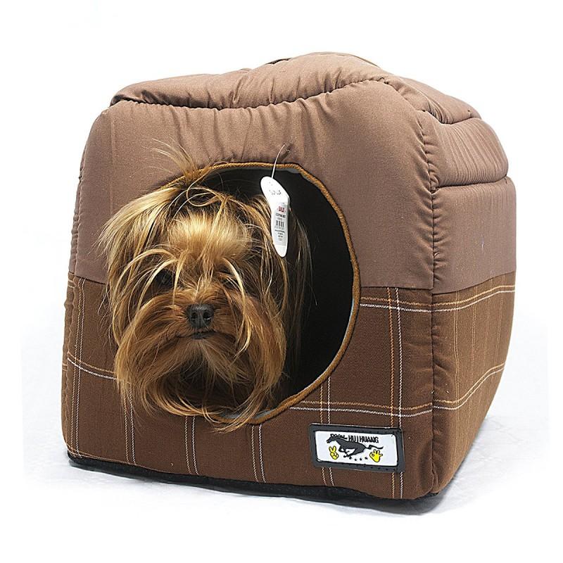 Cuccia casetta igloo numbell pieghevole per cani e gatti - Cuccia per gatti ikea ...