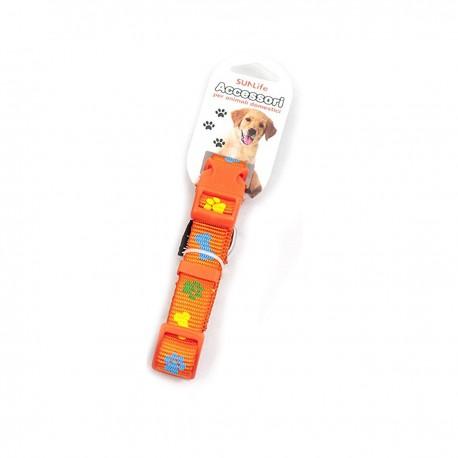 Collare morbido e regolabile per cani - Orange