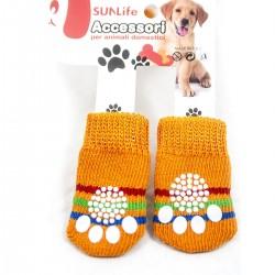 Calzini antiscivolo cane, gatto, cuccioli - Conf. 4 pz.