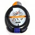 Cavo antifurto dm. varie misure rivestito per bici, moto, scooter