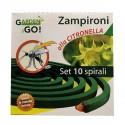 Zampironi Antizanzara alla Citronella Conf. 10 Pz.