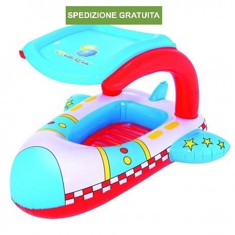 Canottino Aereo galleggiante con protezione dai raggi UV Bestway
