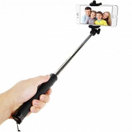 Locust Selfie Stick 2a generazione, Wireless, con manico telescopico.