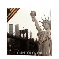 Album fotografico NEW YORK 22,5x28 cm. a foglio adesivo.