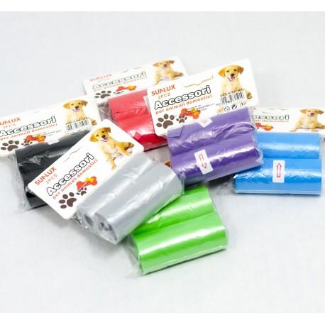 150 pz. Sacchetti igienici per cani e gatti