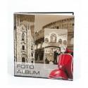 """Album Fotografico """"Vespa"""" Porta Foto 22,5x28 cm. a Foglio Adesivo."""