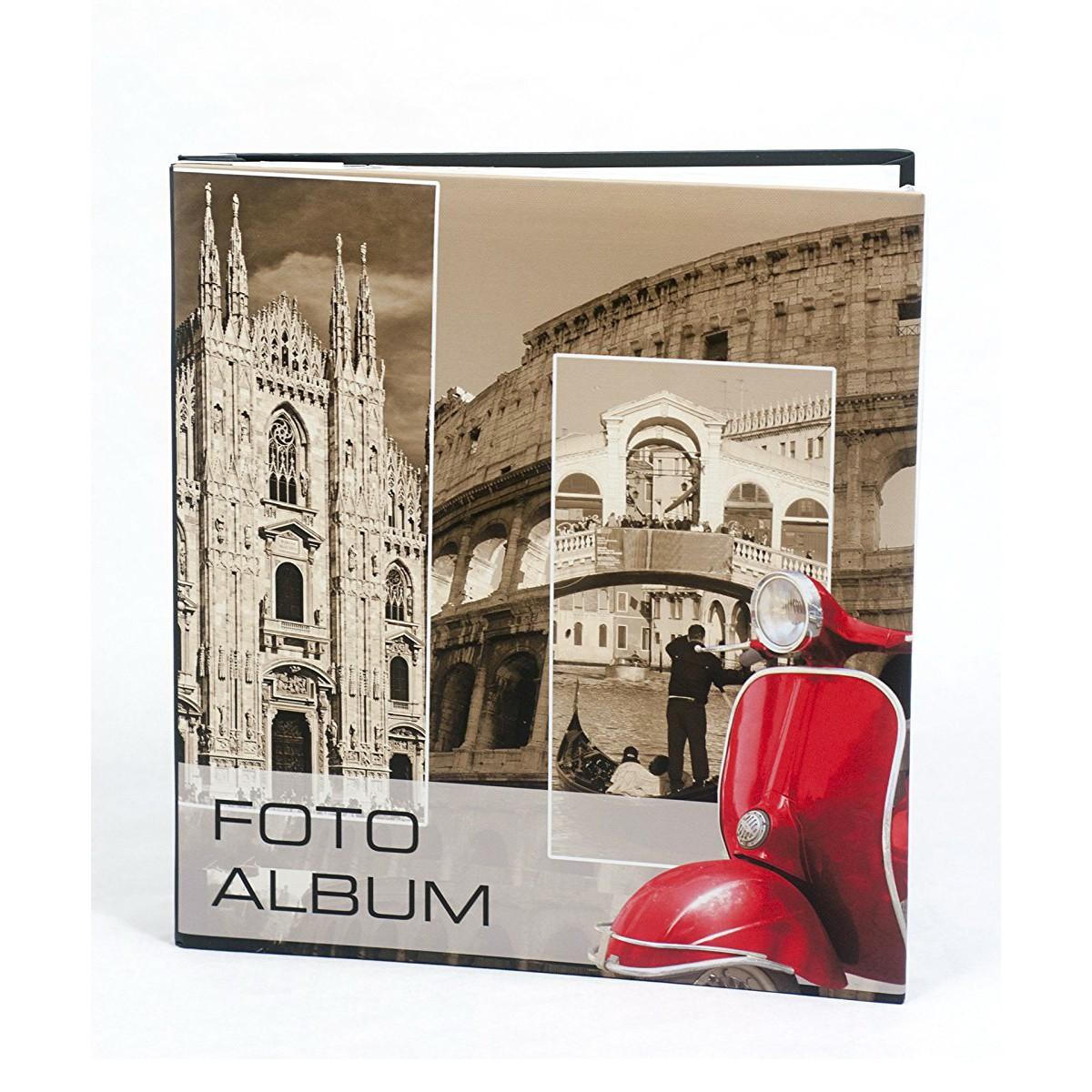 Album Fotografico Vespa Italia Porta Foto A Foglio Adesivo  -> Adesivo Com Foto