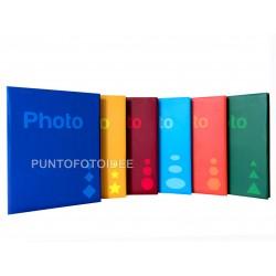 """6 Album fotografici """"Basic"""" a tasche 13x19 per 1800 foto ( 300 foto cad.) con memo - Conf. 6 pz."""