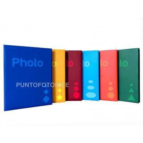 "Album fotografico ""BASIC"" a tasche 13x19 per 300 foto 13x17/13x18/13x19"