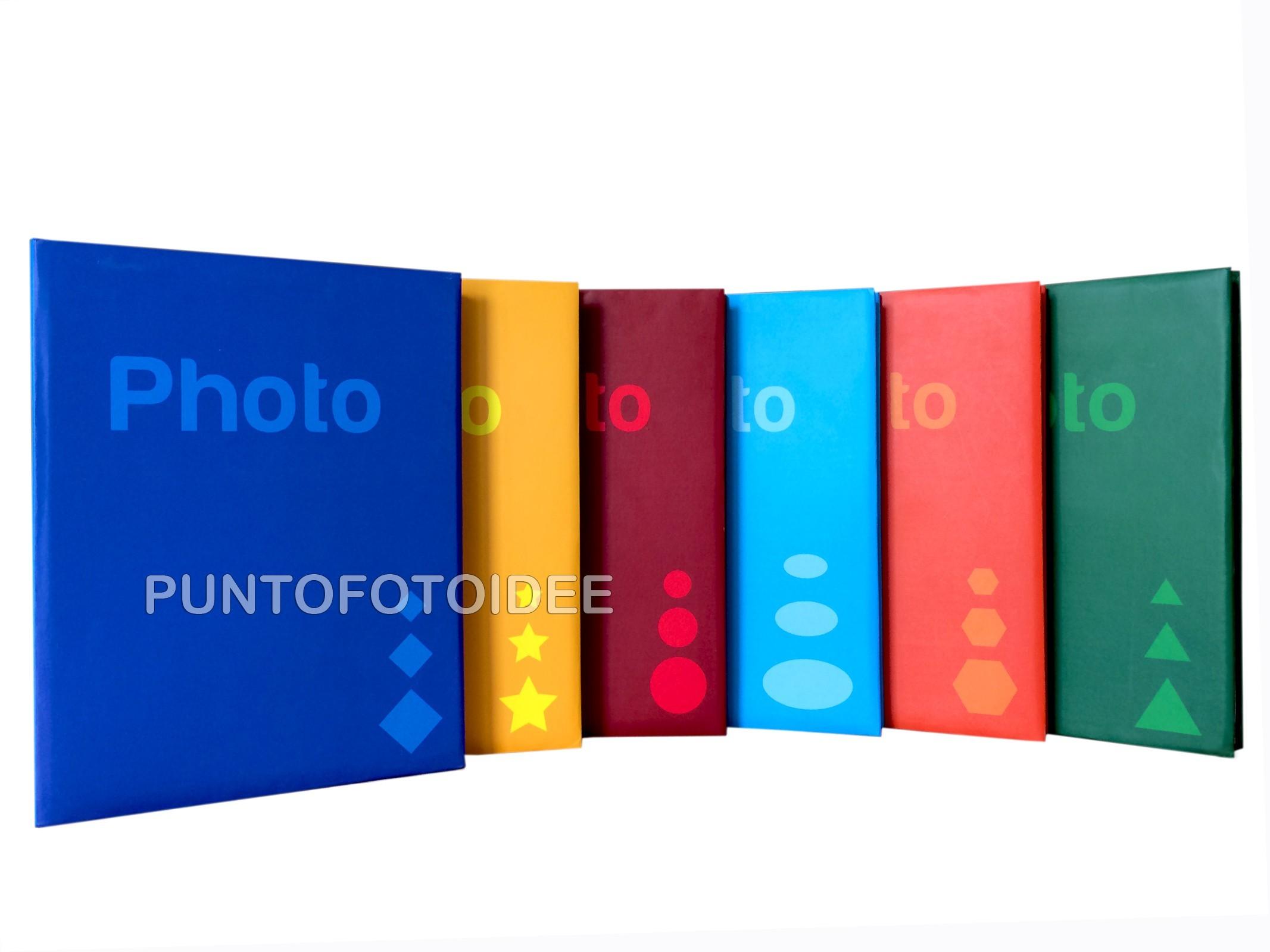 ALBUM FOTOGRAFICO X 200 FOTO 13X19 13x18 13x17 12x18 12x16 a tasche MEMO