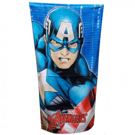 Avengers пляжное полотенце Капитан америка