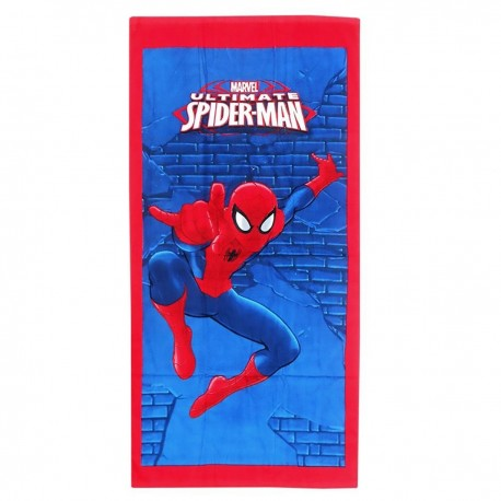 пляжное полотенце spiderman