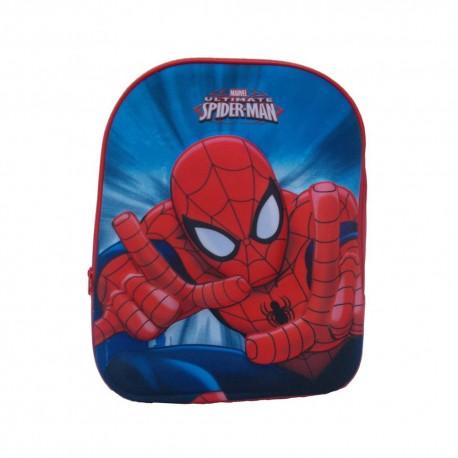 "Zaino Asilo borsa scuola ""Spiderman"" MARVEL 3D"