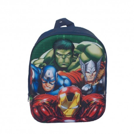 Marvel AVENGERS 3D School Backpack