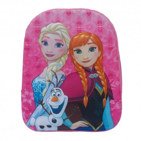 School backpack, FROZEN 3D kindergarten