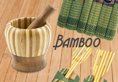 Accessori cucina bamboo